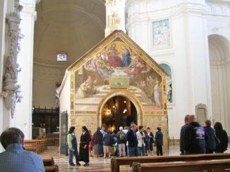 アッシジのポルツィウンコラ礼拝堂
