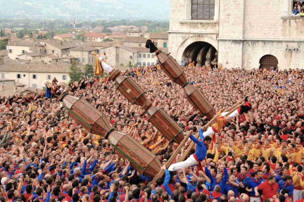 グッビオの大燭台の祭り、Festa dei Ceri