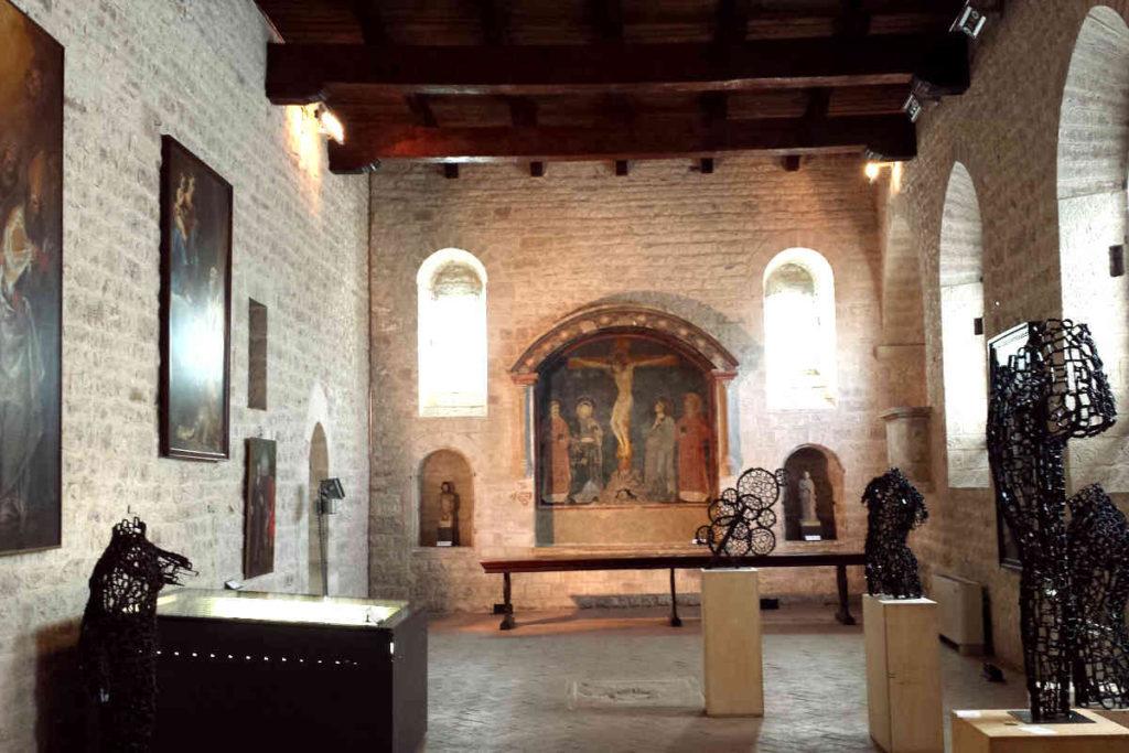 グッビオ『ディオチェザーノ美術館』