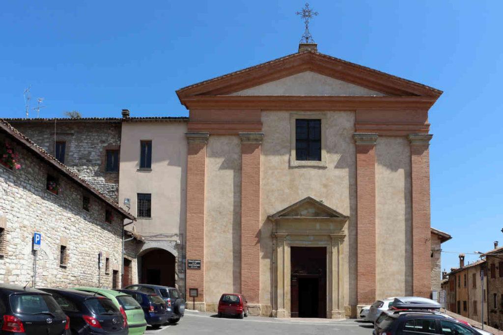 グッビオ「サンタ・アゴスティーノ教会」