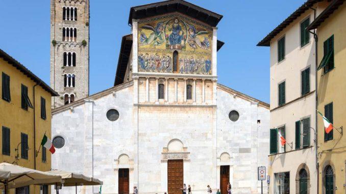 ルッカ サン・フレディアーノ聖堂