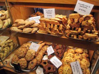 ペルージャのパン店 Forno Fontana