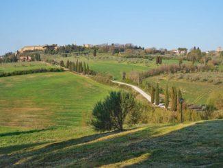 ピエンツァの景色