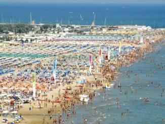 リミニのビーチ