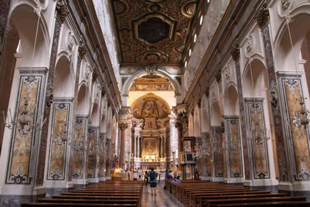 アマルフィ大聖堂の内部