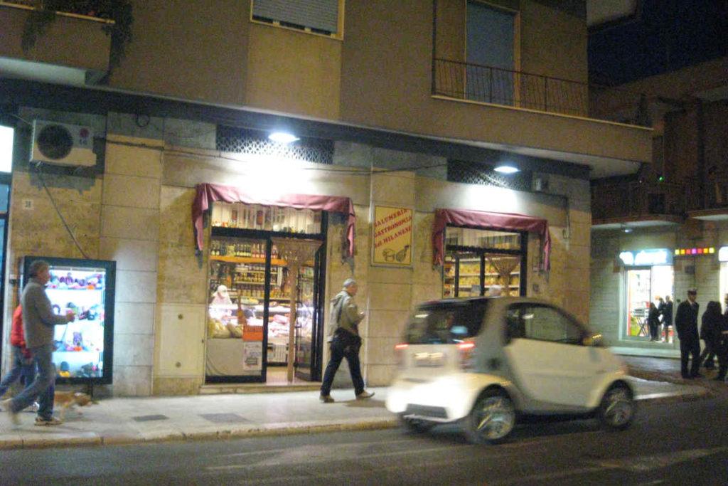 アンドリアのサラミ店