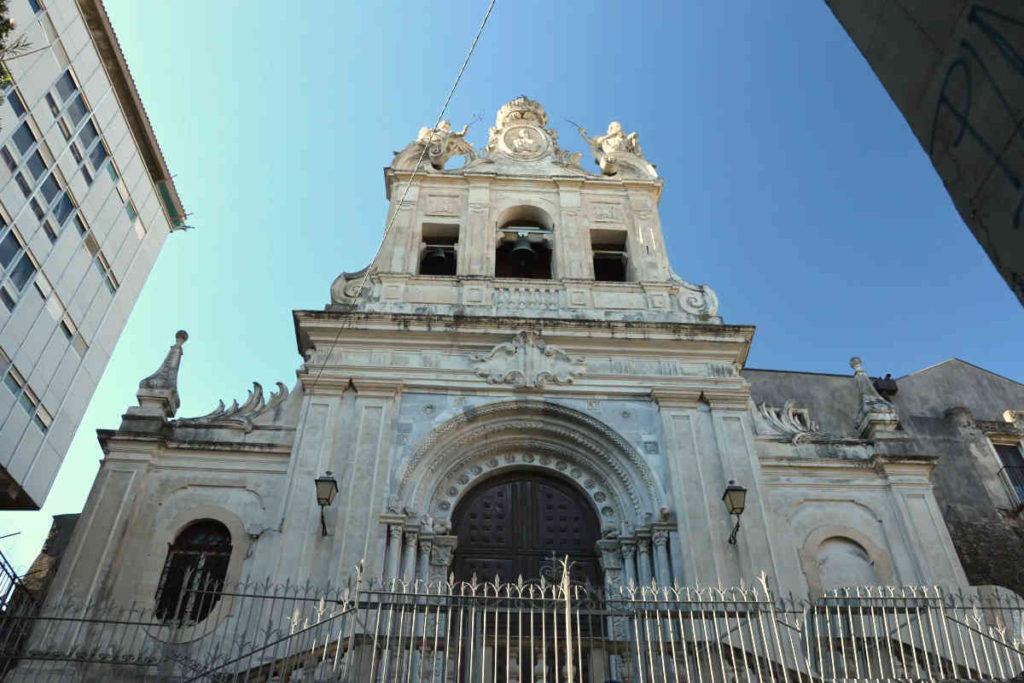 Catania Chiesa di S.Agata al Carcere