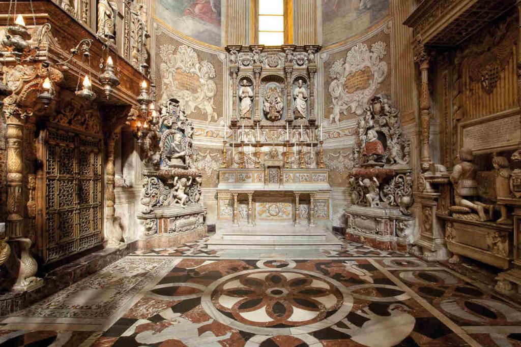 Catania Duomo La cappella di S.Agata