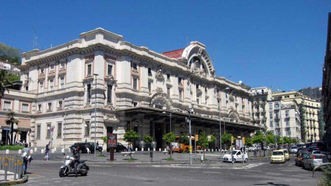 ナポリのメルジェッリーナ駅