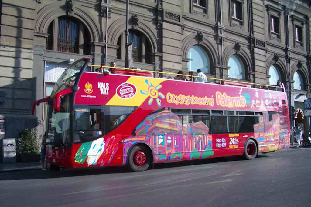 City Sightseeing Bus Palermo