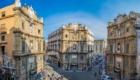 パレルモ旧市街の真ん中、クアットロ・カンティ