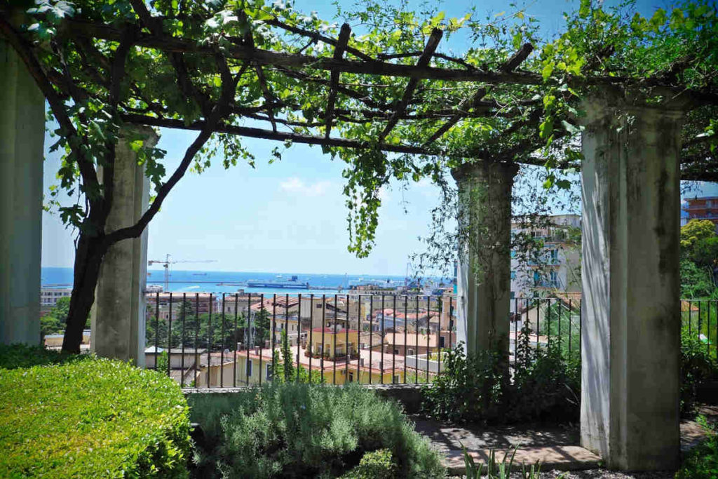 Salerno Giardino della Minerva