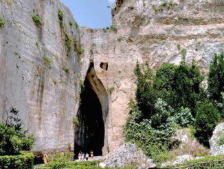シラクーサの天国の石切り場とディオニュシオスの耳
