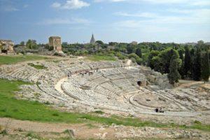 シラクーサのネアポリ考古学公園