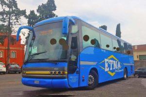 タオルミーナ行きバス