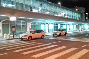 カターニア空港のタクシー