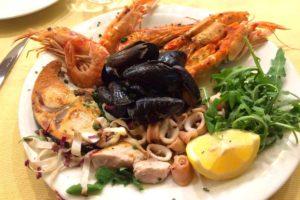 アマルフィ魚介料理レストラン
