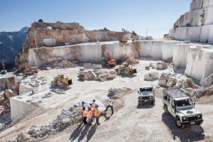 カッラーラの大理石採掘場