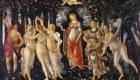 フィレンツェ・ウフィツィ美術館ボッティチェッリ作「春 プリマベーラ」