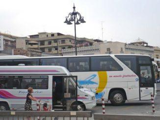 ミラッツォのバス停留所