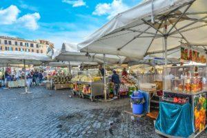 ローマ ポルタ・ポルテーゼ市場