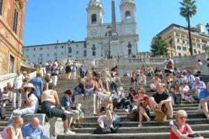 ローマ スペイン階段