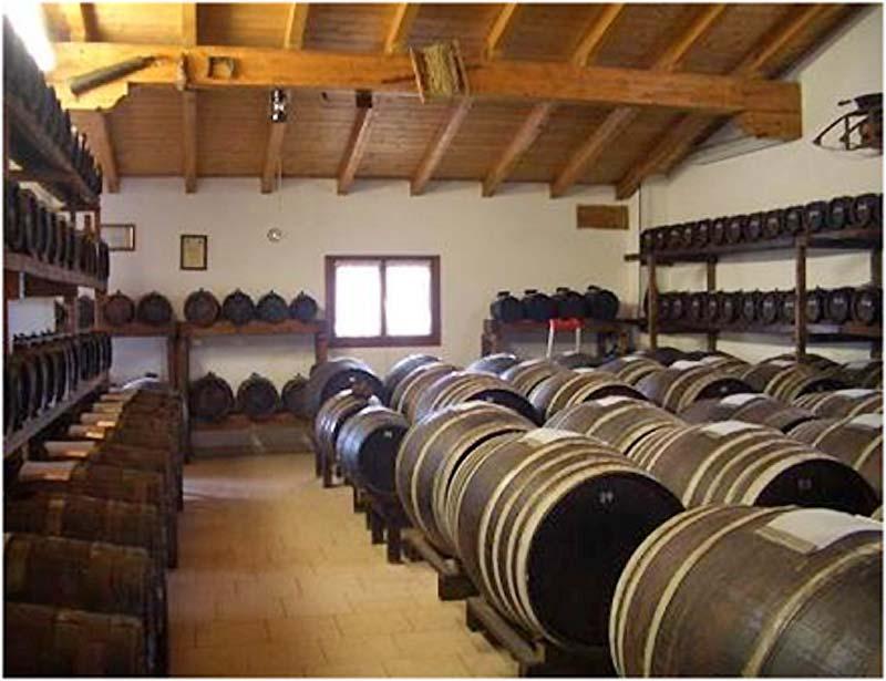 モデナのバルサミコ酢工場