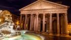 ローマの夜景 パンテオン