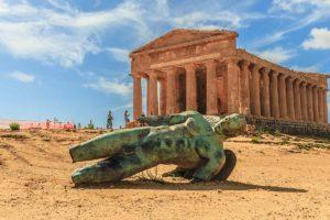 シチリア島アグリジェント遺跡