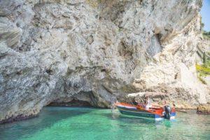タオルミーナのボートツアー