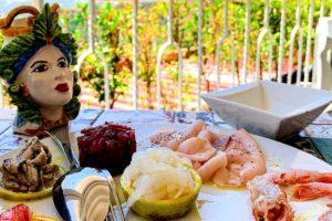 タオルミーナ魚介レストランランチ