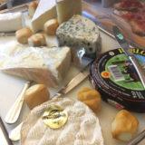 Hotel Colombiaの朝食はチーズの種類も豊富です