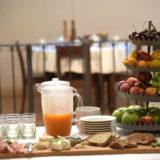 オルビエート Hotel Palazzo Piccolominiの朝食