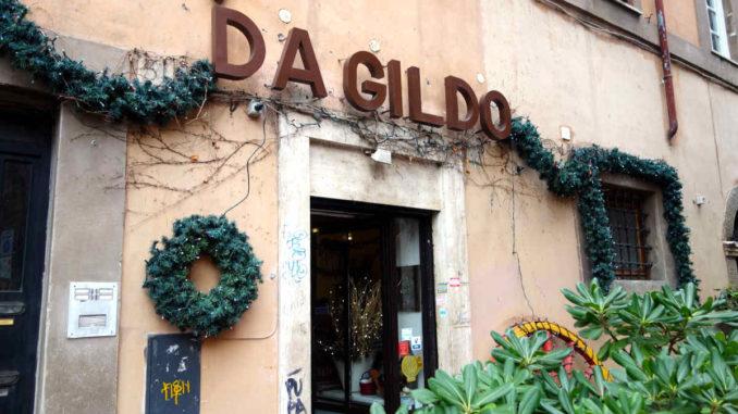 Roma Ristorante Da Gildo in Trastevere