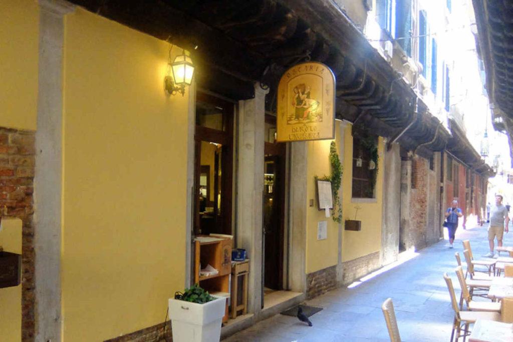 Venezia Ostaria al Diavolo e L'Acquasanta