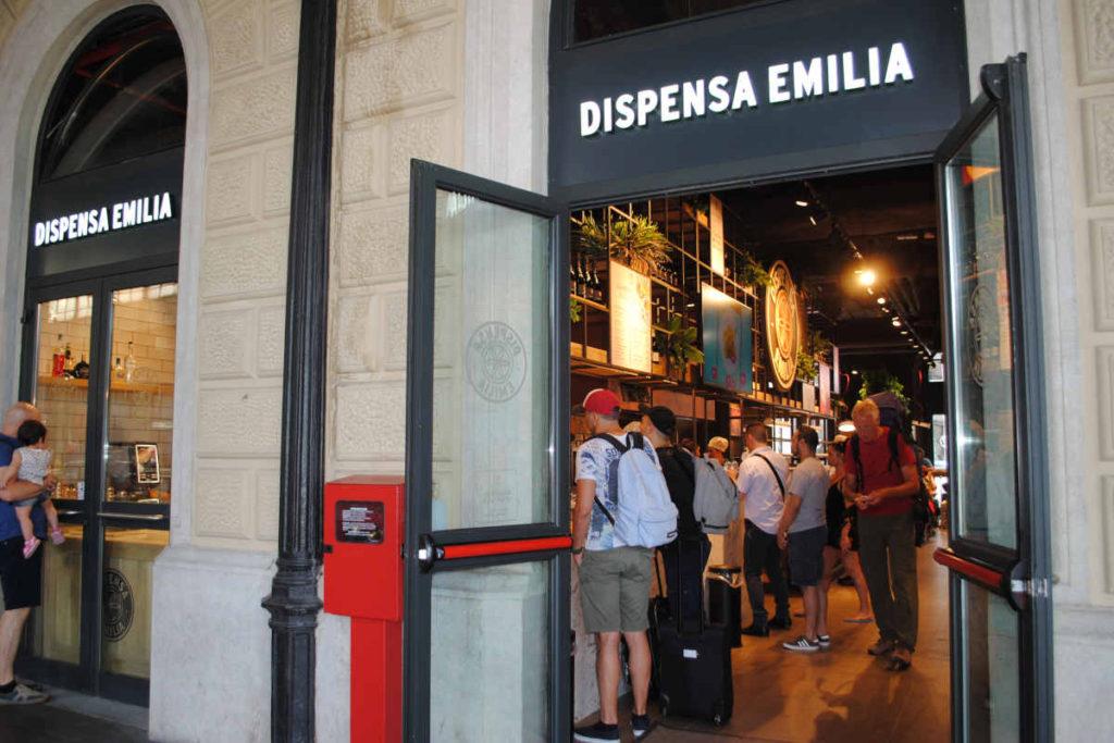 Dispensa Emilia Bologna Stazione Centrale