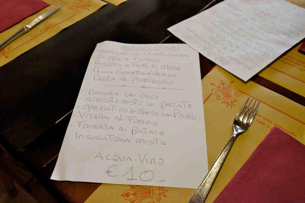 Firenze Osteria dei Centopoveri